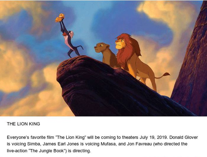 All The Live-Action Films By Disney