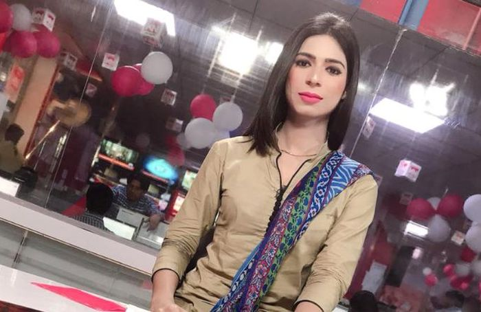 Marvia Malik  Is Pakistan's First Transgender Newsreader