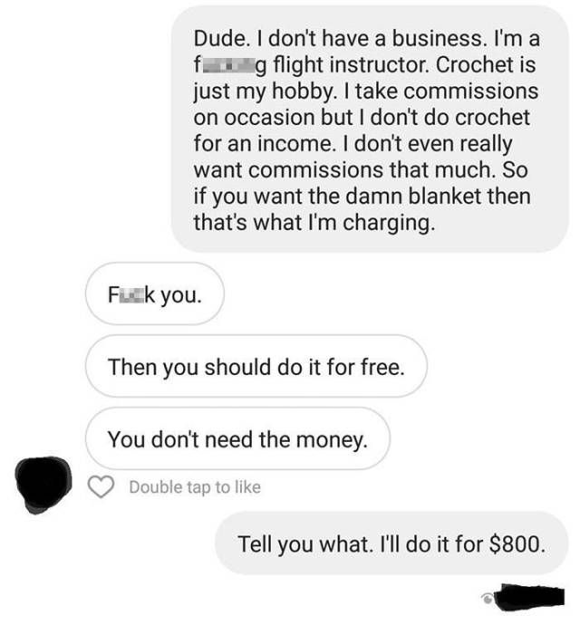 What Would You Do If Someone Wanted You To Do Your Job Essentially For Free?