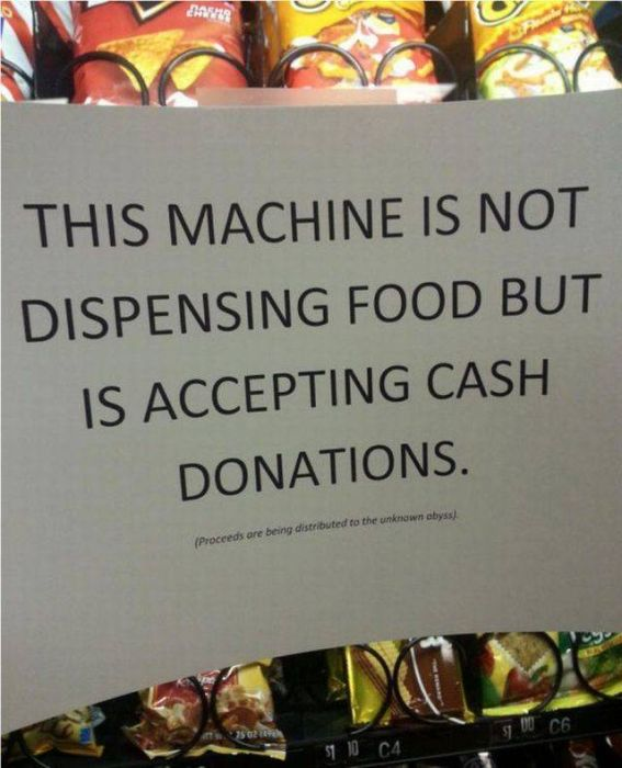 Vending Machine Fails