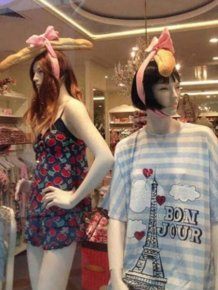 Funny Mannequins