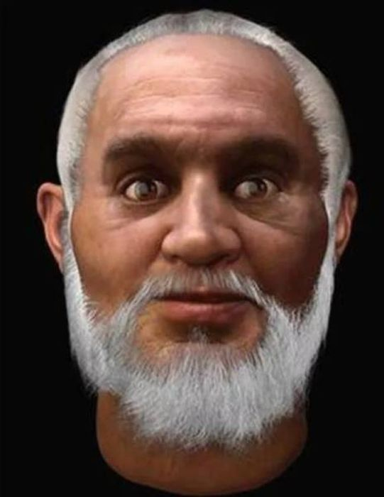 Real Faces Of Famous Historical Figures Recreated In CGI