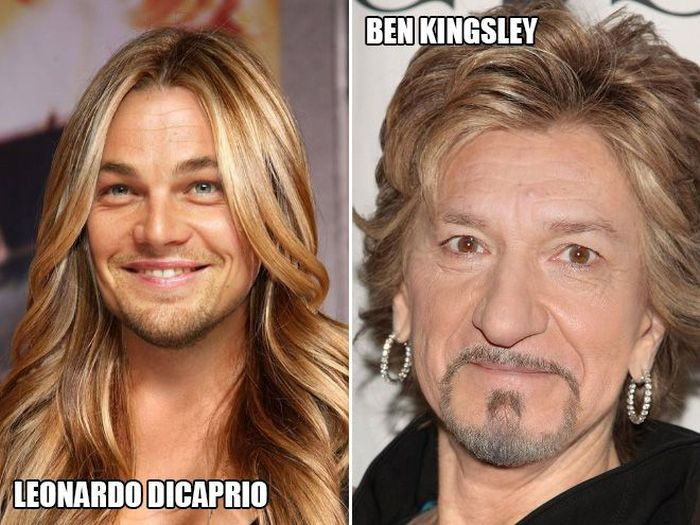 What Male Celebrities Would Look Like If They Were Female