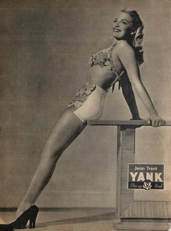 Vintage Pin Up Girls Inspired The US Army During World War II