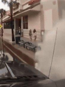 Splashing People