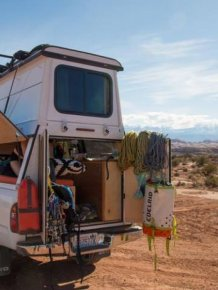 Couple Turns A Toyota Tacoma Into An Adventure Truck