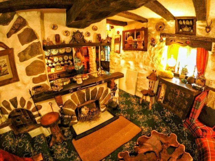 Real-Life Hobbit House In Tomich, Scotland