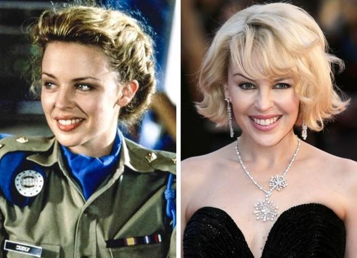 Celebrities Then And Now, part 10