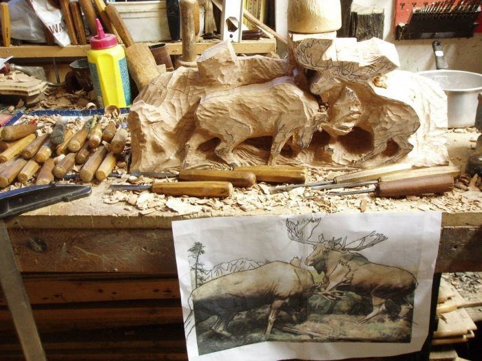 Great Wood Carving