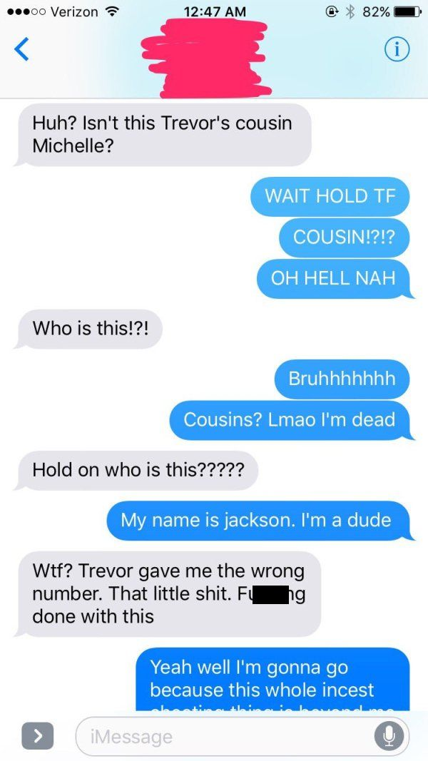 Wrong Number Text Leads To An Unexpected Conversation