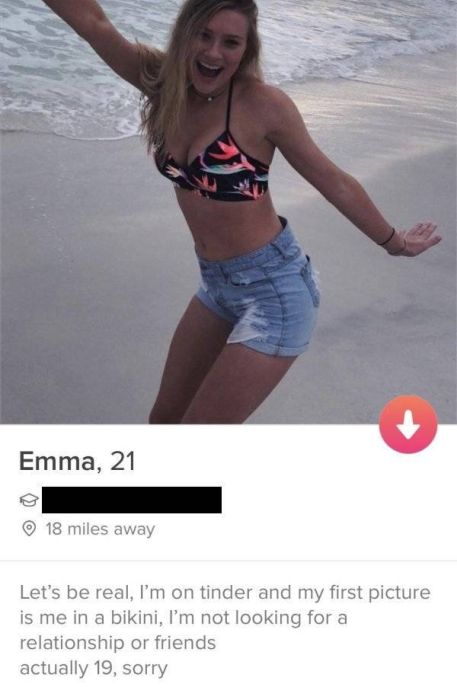 Awkward Tinder Profiles