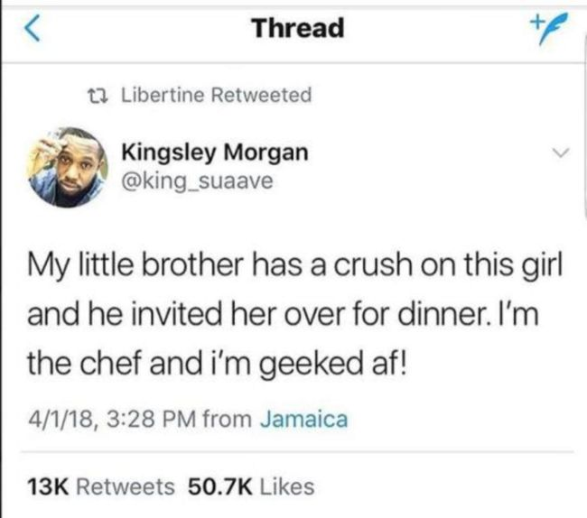 How To Make Little Brother's Date Perfect