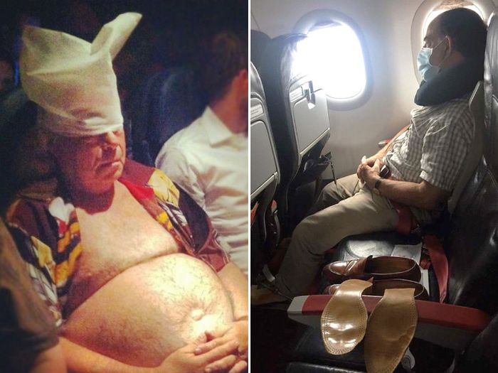 These Airline Passengers Are Your Nightmare