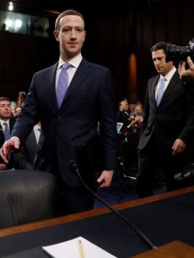 Mark Zuckerberg In The Senate