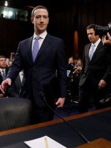Mark Zuckerberg In The Senate