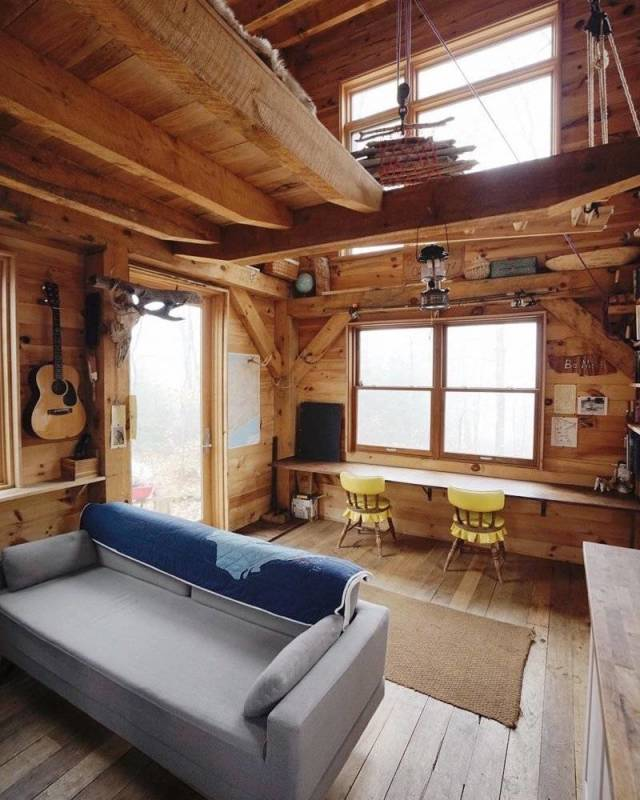 Awesome Wooden Houses
