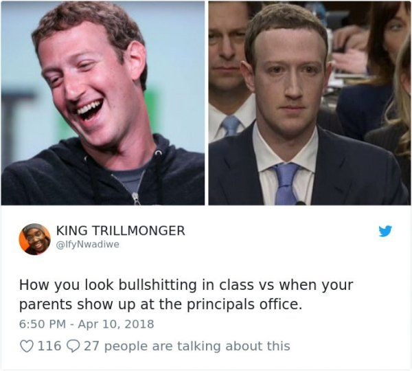 Mark Zuckerberg's Congressional Hearing Memes