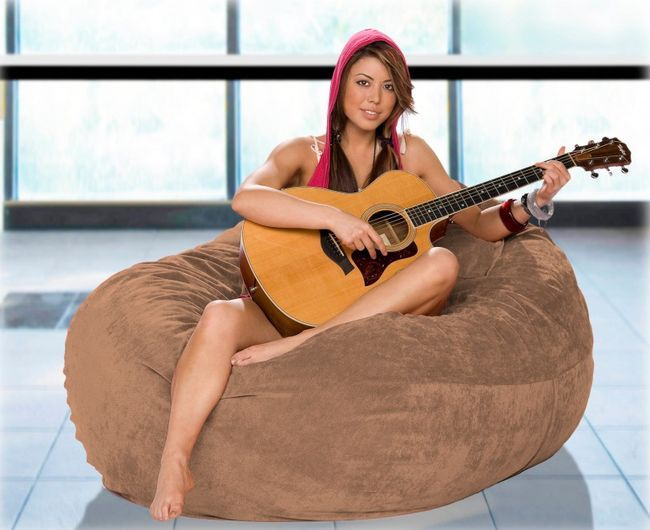 This Bean Bag Chair Is 100% Fun
