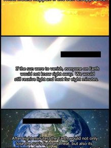 Must Read. What Would Happen If The Sun Has Disappeared
