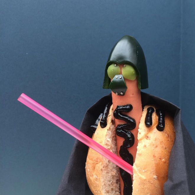 Pop Culture Icons Replaced With Wieners