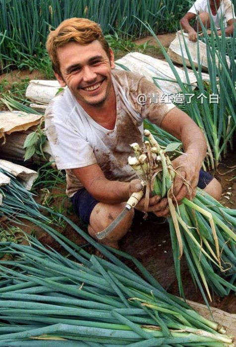 Celebrities As Chinese Farmers