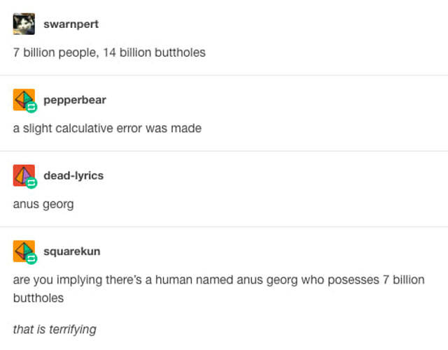 Snarky Posts From Tumblr