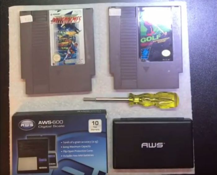 Drugs Found Inside Old NES Cartridges