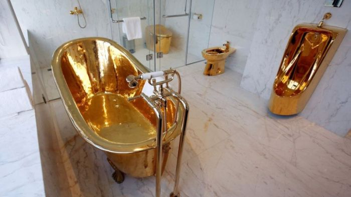 Presidential Suite In This Hotel In Danang, Vietnam, Is Covered With Real Gold