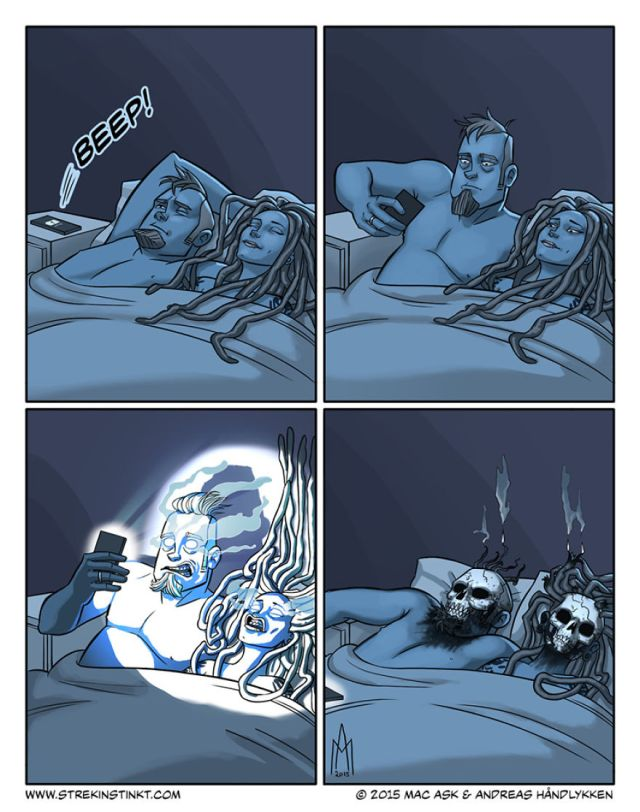 A Married Couple Illustrate Their Everyday Problems With A Surreal Twist