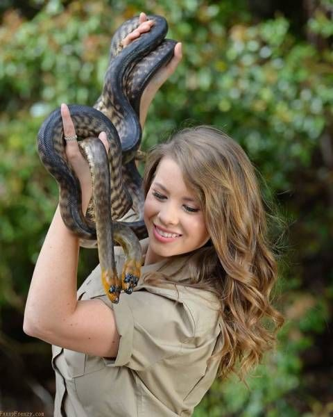 Steve Irwin's Daughter Is Going In Her Father's Footsteps