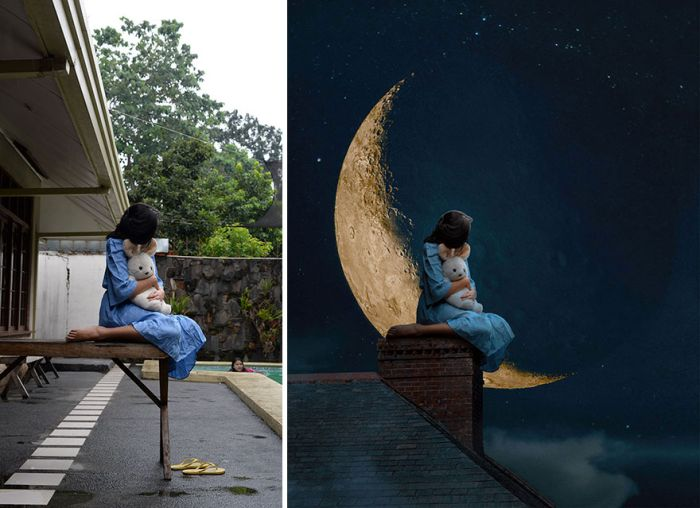 Photos Before And After Effects