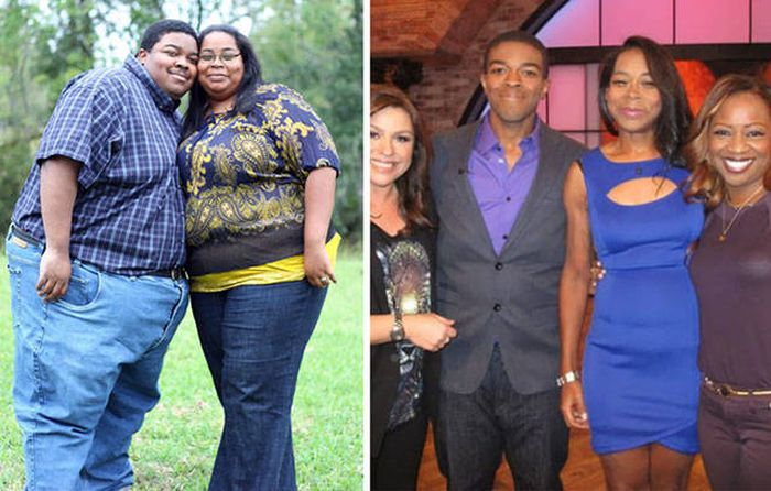 The Couples Who Lost Weight Together