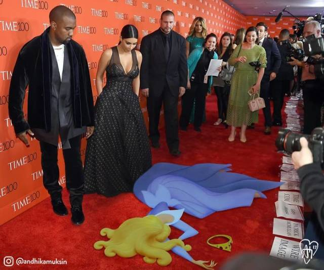 Artist Photoshops Disney Characters Into Celebrity Photos