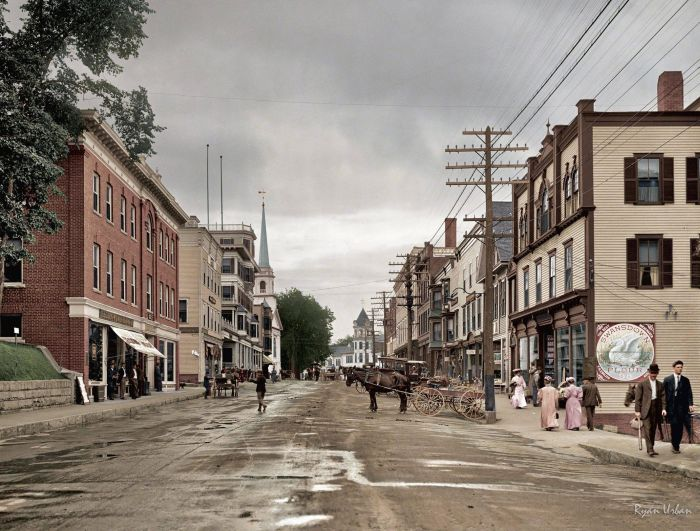 Color Photos Of Old America