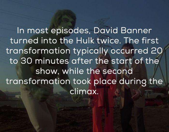 Hulk TV Show Facts