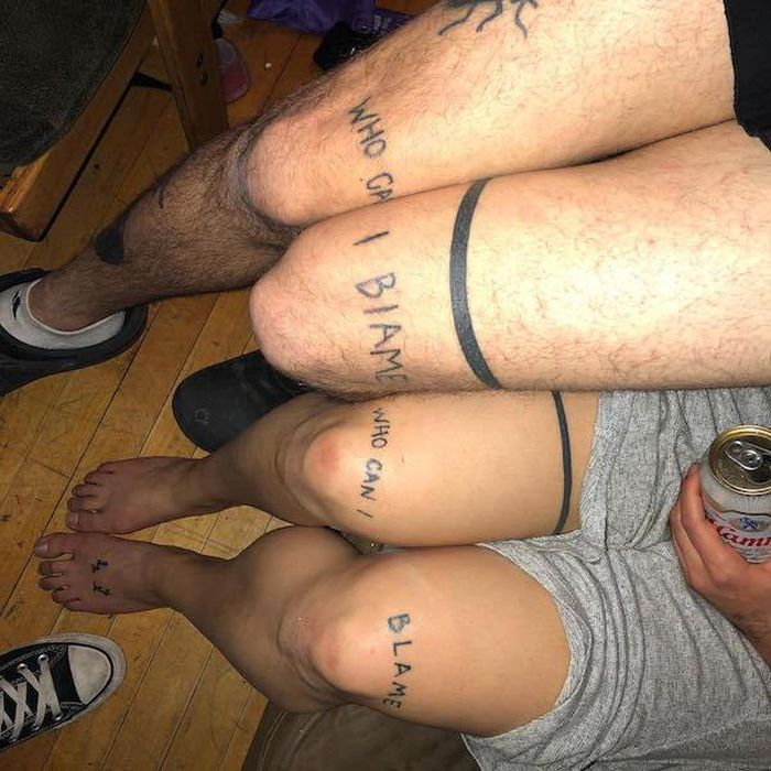 Drunk Tattoos