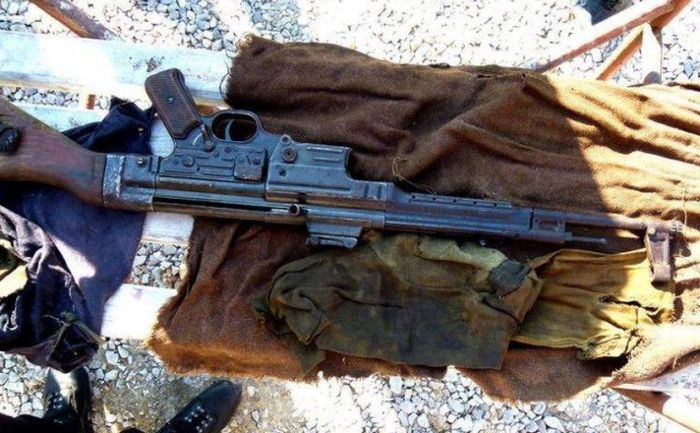 StG 44 Found In The Attic During Repair