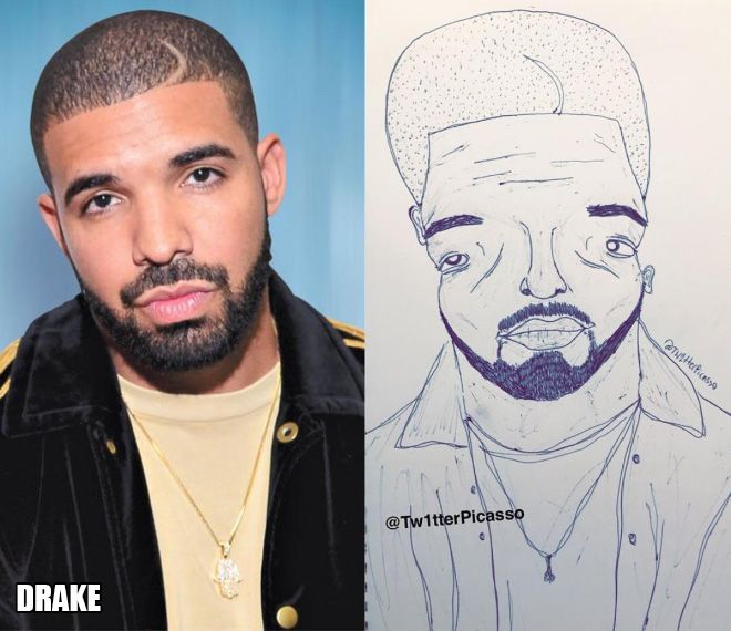 Artist Trolls Celebrities With His Ridiculous Fan Art
