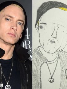 Artist Trolls Celebrities With His Ridiculous Fan Art