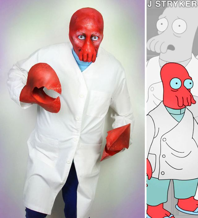 This Cosplayer Can Turn Himself Into Any Character
