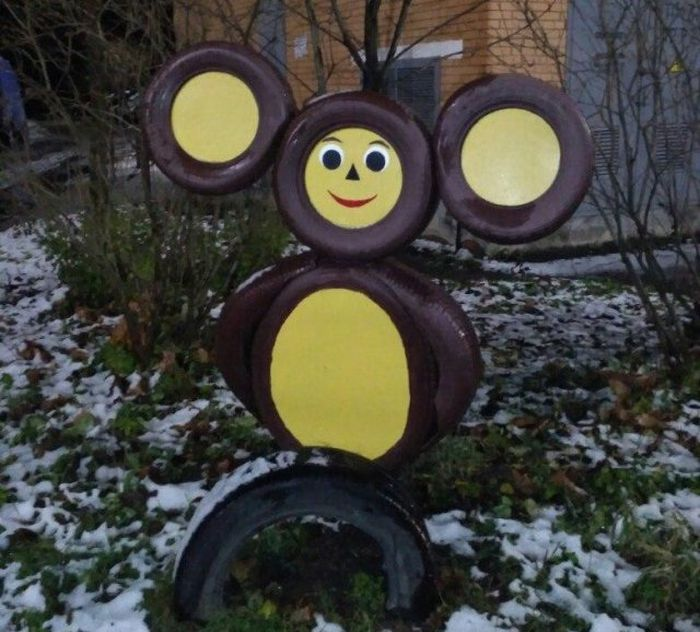 Children's Playgrounds In Russia