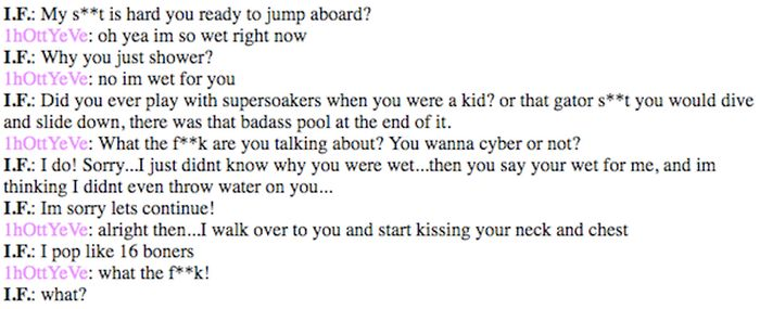 Vintage Cybersex Chats