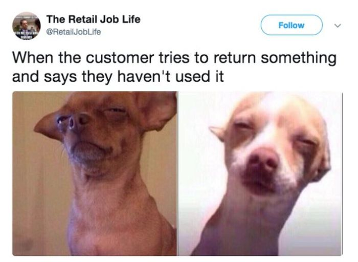 Working In Retail Memes