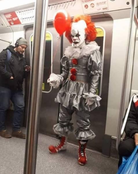 Seen In Subway