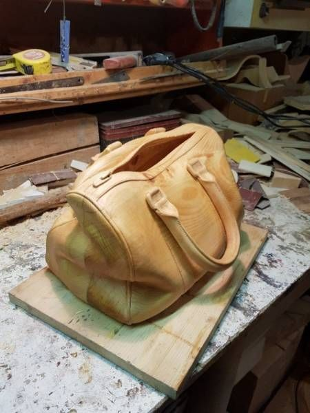 Carved Bag