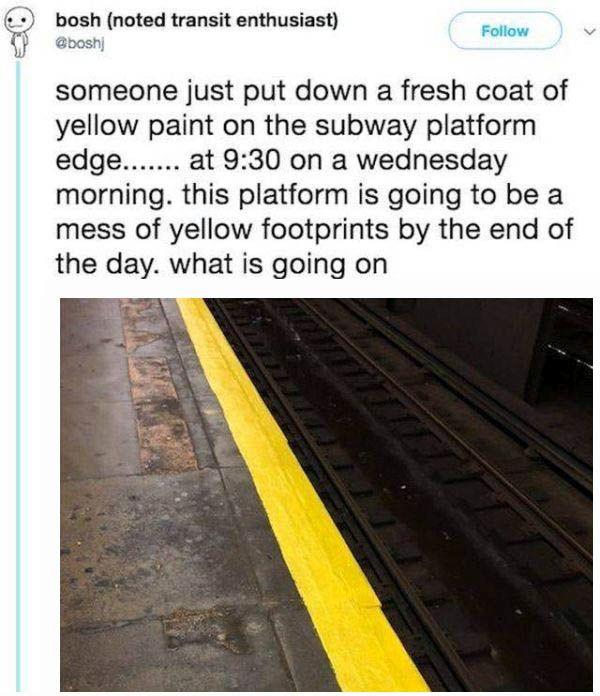 Subway Paint Fail