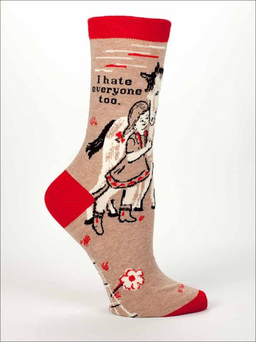 Socks With Brutally Honest Messages