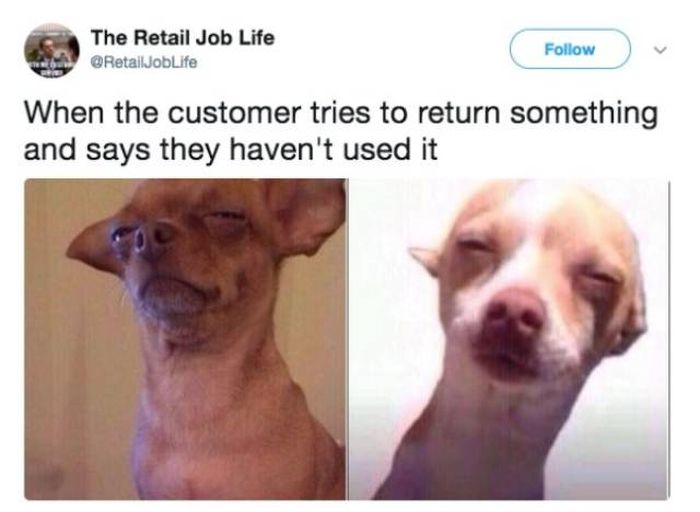 About Working In Retail