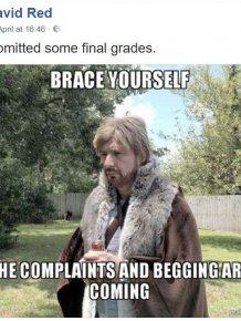 Professor Trolls His Students