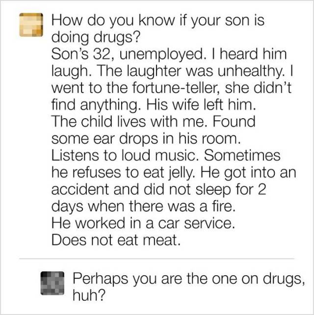Never Ask Internet For An Advice